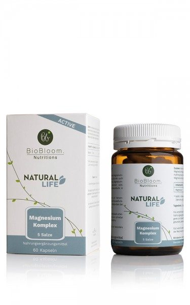 Biobloom Natural Active - Magnesium Komplex