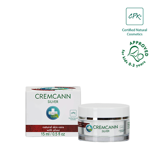CREMCANN SILVER - reduces skin impurities