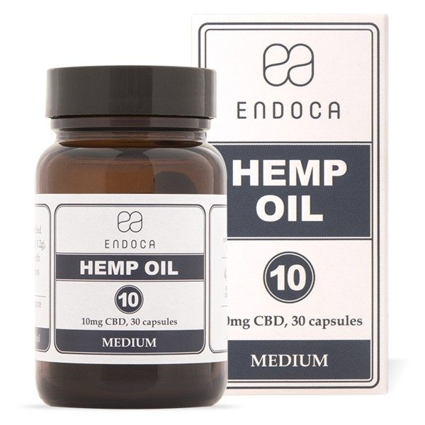 Endoca CBD Oil Capsules 3%