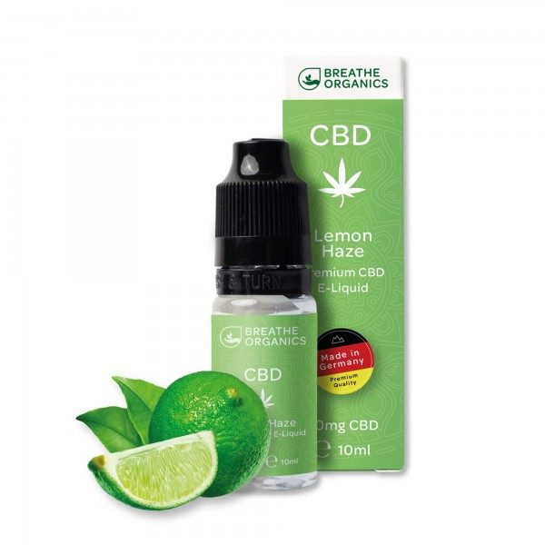 Breathe Organics CBD E-Liquid Super Lemon Haze