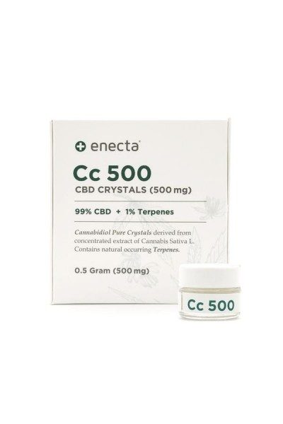 Enecta 99ONE CBD crystals 99%