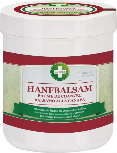 ANNABIS HEMP GEL Massagebalsam