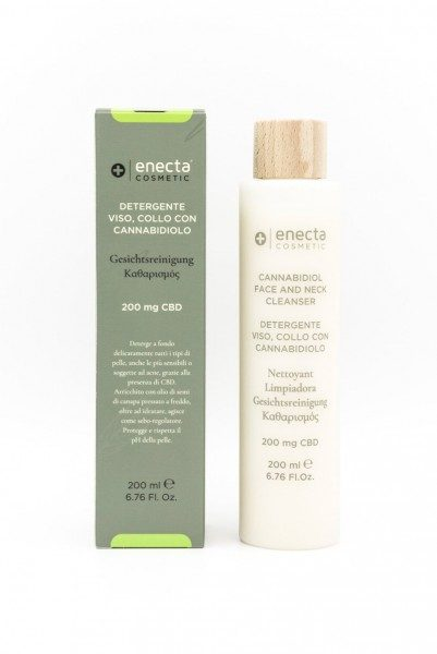 Enecta face and neck cleaner