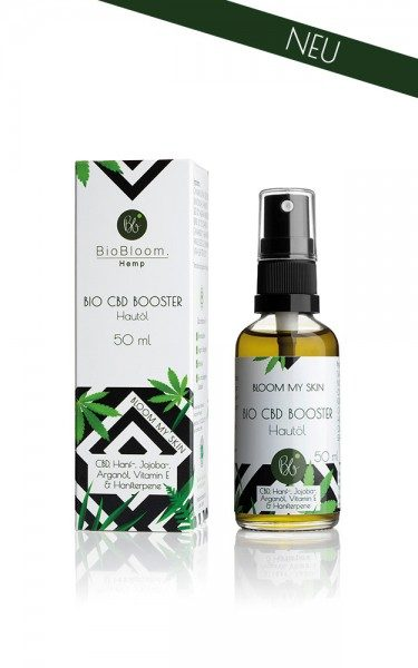 BioBloom Into The Wild - Bio CBD Booster für die Haut
